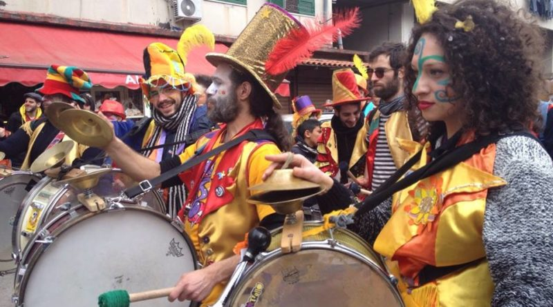 domenica 3 marzo: I Cicloverdi al 37° Corteo di Carnevale a Scampia