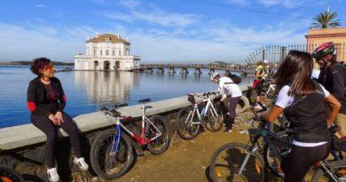Domenica 24 febbraio: giro in bici per i quattro laghidei Campi Flegrei