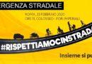 COMUNICATO –  FIAB Napoli Cicloverdi a Roma per l'emergenza stradale